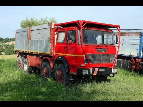 Pronti I Vecchi Camion Per La Campagna - Fiat 180