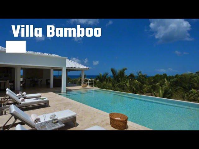 St Martin properties / St Maarten houses for sale, villa Bamboo