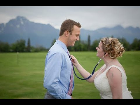 Bride meets man who received heart transplant from her son