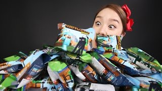캐리의 마인크래프트 액션피규어 랜덤 열쇠고리 장난감 놀이 CarrieAndToys