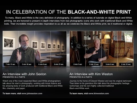 John Sexton  -  Celebrating The Black and White Print