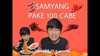 SAMYANG CHALLANGE + 100 CABE RAWIT JABLAY NO REACTION #GEMAS