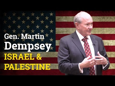 Israel / Palestine and the Two-State Solution | General Martin Dempsey (2017)