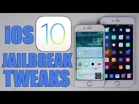 Jailbreak Tweaks in iOS 10!