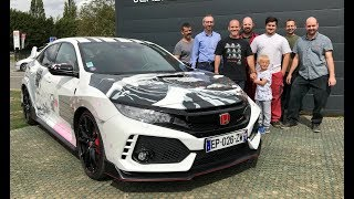 Honda of France Gave Me a Civic Type R for the Weekend