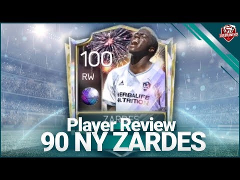 FIFA MOBILE 18 90 NY ZARDES REVIEW #FIFAMOBILE LIVE GAMEPLAY 90 NEW YEARS RW ZARDES
