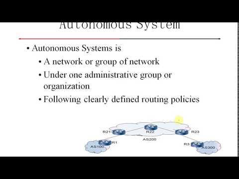 BGP Training - Autonomous System (Part 02)