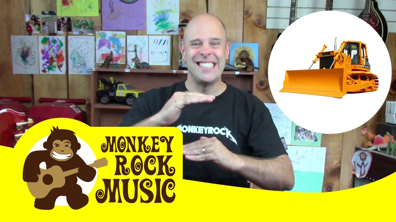 Time To Build Monkey Rock Music Kids Dance Songs Nursery Rhymes Youtube