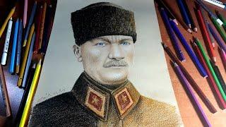 Mustafa Kemal ATATÜRK Çizimi