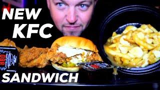 NEW KFC CHICKEN SANDWICH  AND …