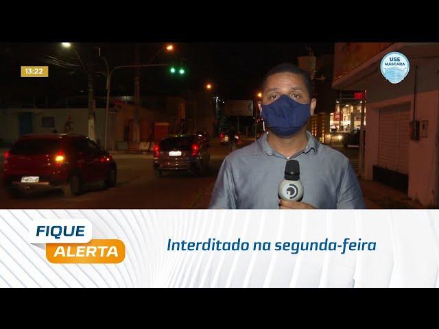 Trânsito na avenida Júlio Marques Luz, no bairro da Jatiúca, será interditado segunda-feira