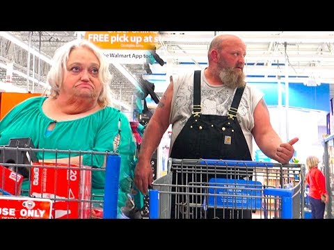 The Pooter - Farting on People in Oregon at WalMart - Funny People of WalMart