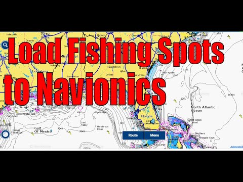 How To Load Fishing Spots To The Android Navionics App