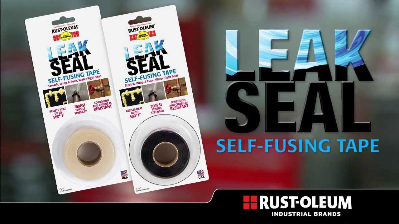 Rust Oleum Industrial Leak Seal Self Fusing Tape Youtube