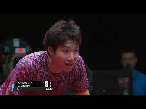 2017 T2 APAC (Grand Finals) Men's C'ship 3/4 place CHUANG C-Y. Vs MIZUTANI J.  [Full/English|HD]