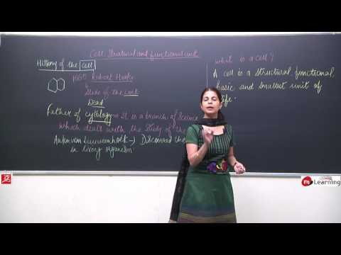 CELL STRUCTURE AND FUNCTION 01