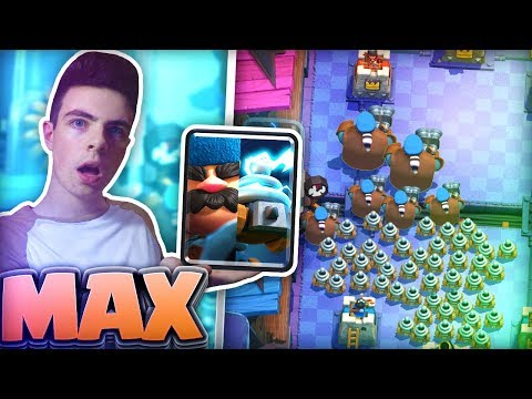 PLAYING with COMPLETELY MAX HUNTER and ZAPPIES in CLASH ROYALE | Level 8 Hunter | Level 11 Zappies
