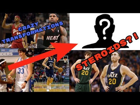 Crazy NBA player body transformations! STEROIDS?!!