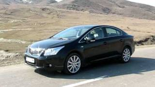 New Toyota Avensis 2.2 D-CAT 177HP Drive-test