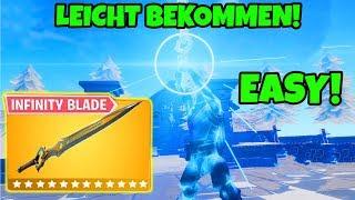 Infinity Blade LEICHT bekommen! (Trick) | Fortnite Battle Royale