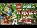 LEGO NINJAGO DLC Ninjago Bambuswald Sensei Wu Dojo Let S Play Lego Worlds Gameplay EgoWhity mp3