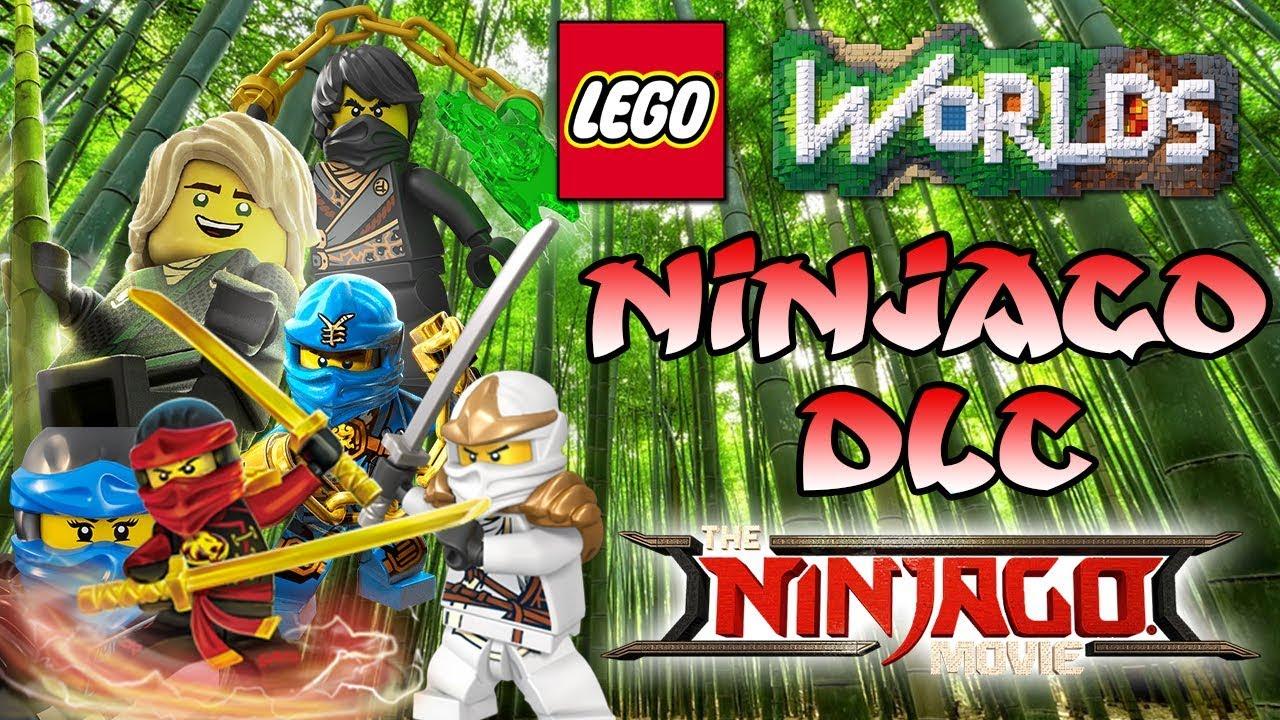 Lego Ninjago Dlc Ninjago Bambuswald Sensei Wu Dojo Let S Play