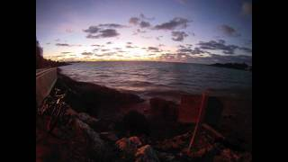 Bermuda Sunset Time Lapse GoPro HD