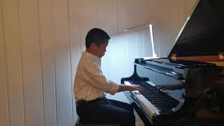 Yihan plays: Solfeggietto by C.P.E Bach and Sonatina in C major 2nd movement by Fredrich Kuhlau