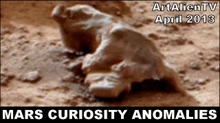 Iguana & Tortoise Found on Mars: NASA Curiosity: NEW REMASTERED VERSION. ArtAlienTV - MARS ZOO 1080p