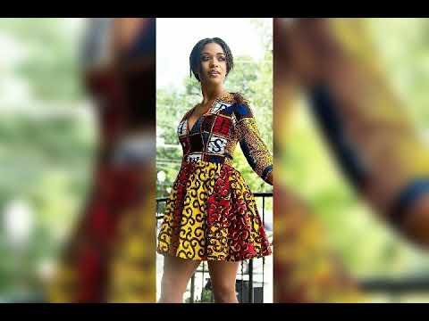 100 modèles africaines en wax - YouTube