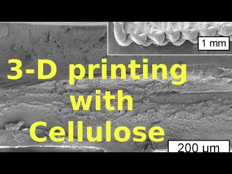 3-D printing with Cellulose | QPT