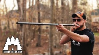 How to shoot a BLOWGUN | Blowgun SHOOTOUT (You'll be surprised who actually wins) (FITW)