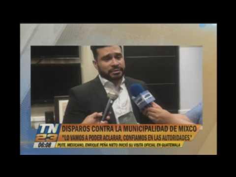 Ataque armado contra la municipalidad de Mixco