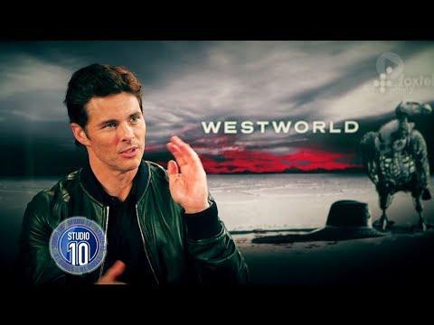 James Marsden Talks 'Westworld' | Studio 10