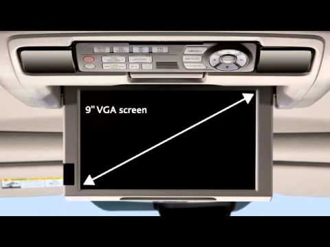 2015 Acura MDX Rear Entertainment System