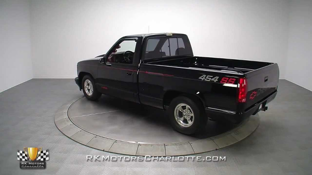 All Chevy chevy c10 wiki : 133291 / 1991 Chevrolet C/1500 454 SS - YouTube