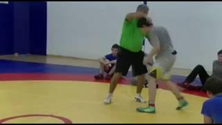 Freestyle wrestling training  Приемы вольной борьбы