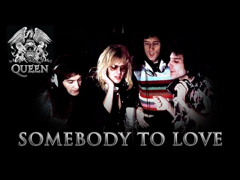 QUEEN - Somebody to Love (Lyric on Screen)
