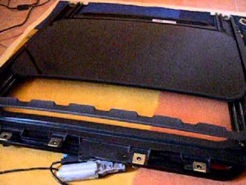 Mk4 fonctionnement on desk du toit ouvrant oem youtube - Moteur pour fenetre de toit ...