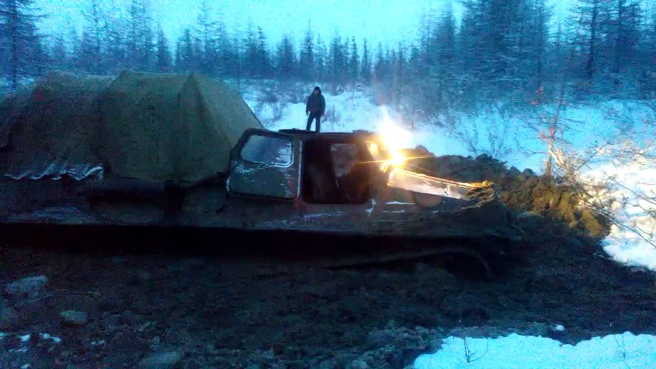 ГТ-СМ (ГАЗ-71) Газушка в воде и грязи! Этот вездеход, всегда и .