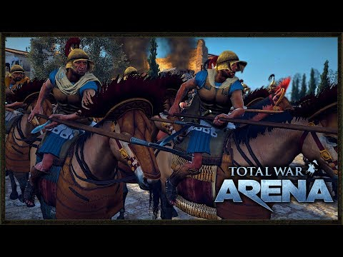 Total War: Arena Gameplay - The True Way To Play Alexander The Great!