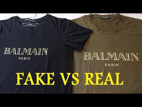 777241c517f1be HOW TO SPOT A FAKE BALMAIN T SHIRT
