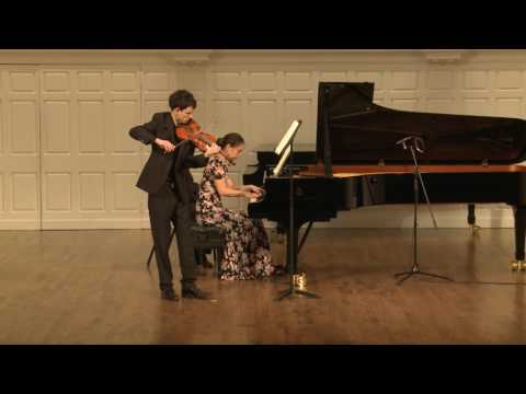 Franck Sonata in A major for Violin and Piano