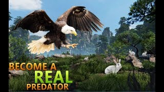 Wild Eagle Bird Simulator - New Eagle Game 2017 (Cybernator Sims) Android GamePlay Video