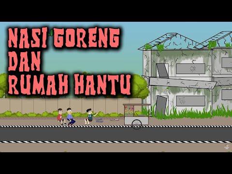 Nasi Goreng dan Rumah Hantu | Animasi Horor Kartun Lucu | Warganet Life Ft. Rizky Riplay