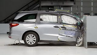 2018 Honda Odyssey Passenger-side Small Overlap IIHS Crash Test