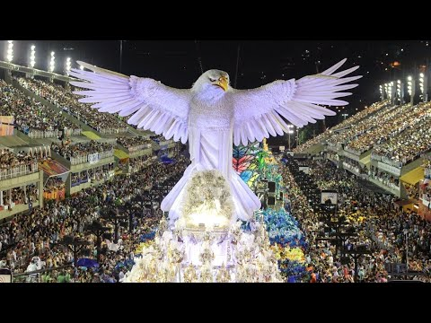 Top 50 Rio Carnival Floats [HD] | Brazilian Carnival | The Samba Schools Parade
