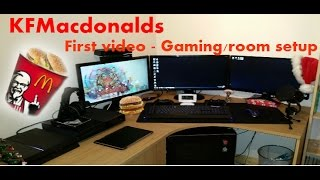 My First Video - Welcome To My Channel/setup - Kfmacdonalds