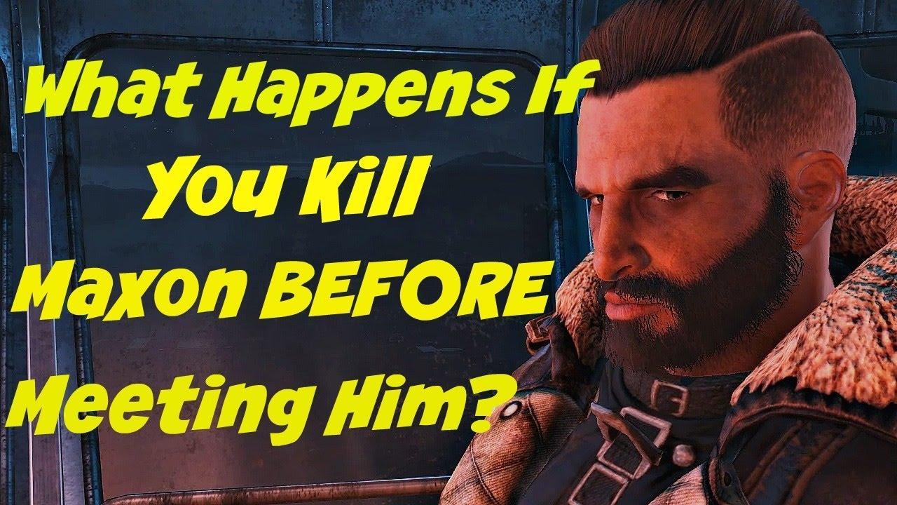 Fallout 4 Kill Maxson