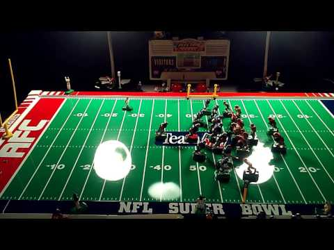 electric football 49ers Rodger Craig nice run up the middle